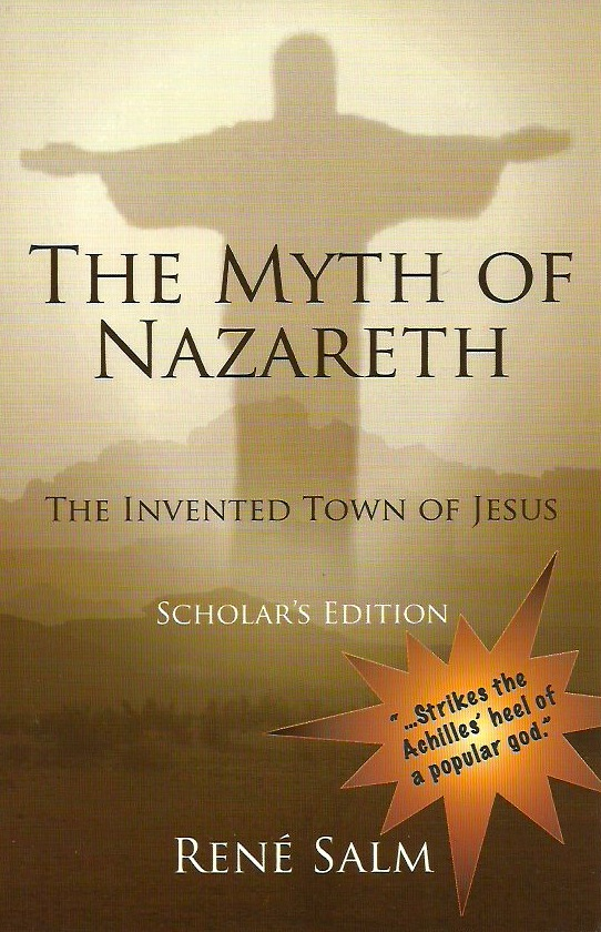 Photo: Cover of The Myth of Nazareth